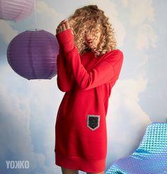 #yokko #yokkofashion #reddress #red #casualdress #casuallook #winteroutfit #winterwear #qualityfashion #fashionwelove #buyonline Winter Outfits, Casual Outfits, Winter Wear, Canada Goose Jackets, Casual Looks, Winter Jackets, Seasons, Fashion, Cold Winter Outfits
