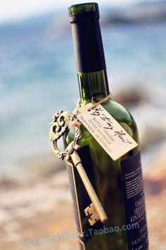 """""""Key to My Heart"""" Antique Wine Bottle Opener by Beter Gifts http://m.aliexpress.com/item/1721144012.html"""