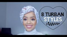 8 Turban Styles Tutorial || كيف البس التوربن - YouTube Mode Turban, Turban Hijab, Turban Headbands, Turbans, Headscarves, Turban Tutorial, Hijab Style Tutorial, Doek Styles, Street Hijab Fashion