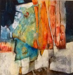 "Laura Asaro (Salta), ""Abrite al mundo"", tecnica mixta, 50x50cm, 2011"