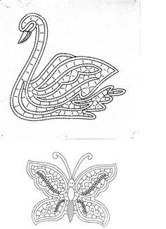 cigno e farfalla