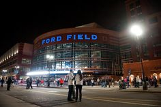 Ford Field- JW international convention 2014- something to look forward to