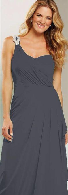 Charcoal Mr K Bridesmaid Dress