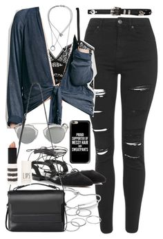 """""""Outfit with jeans for autumn"""" by ferned on Polyvore featuring Topshop, ELSE…"""