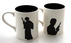 Canecas do Han Solo e Princesa Leia