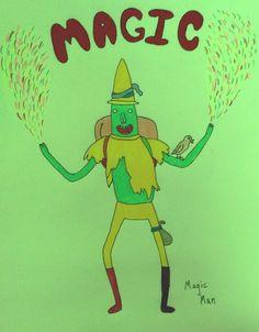 Magic Man fan art - Adventure Time