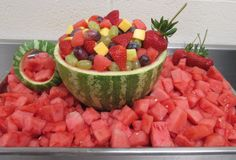 Watermelon Teacup at Franklin Elementary School