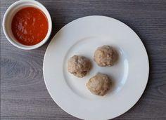 Albóndigas de atún al vapor con salsa de piquillos para #Mycook http://www.mycook.es/cocina/receta/albondigas-de-atun-al-vapor-con-salsa-de-piquillos