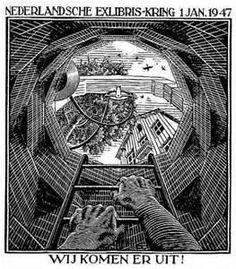 M. C. Escher, Artist