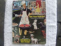 Saturday Evening Post July/August 2014 grilling menu with new recipes