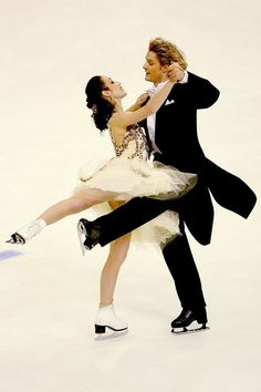 Meryl and Charlie Viennese waltz 2009... We will be ridiculous and old fashioned, dance, skate and laugh at each other when we both fall down.