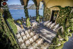 Elegant October wedding at Villa Balbianello. Picture by Gabriele Basilico ©