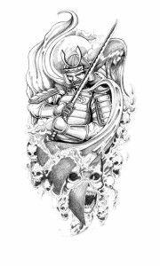 JJapanese Tattoos Especially Samurai Tattoo Designs Gallery Picture 3 Hd Tattoos, Kunst Tattoos, Tatoo Art, Sword Tattoo, Mask Tattoo, Samurai Warrior Tattoo, Warrior Tattoos, Samurai Tattoo Sleeve, Yakuza Tattoo