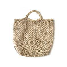 Hand Woven Jute Macrame Market Bag Natural - The Future Kept - 1