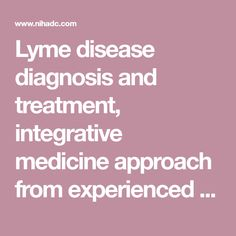 214 Best Lyme Disease Coinfections Images On Pinterest