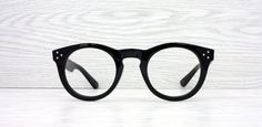 Black Thick Round Oval eyeglasses prescription glasses by Antiqueelse