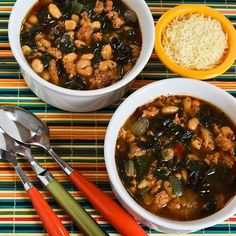 This Phase One Italian Sausage and Bean Soup with Chard is simple and delicious.       (Here's a great Phase One soup recipe to add to our M...