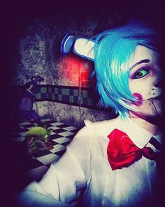 Good evening all have some more toy bonnie Fnaf Cosplay, Cosplay Makeup, Five Nights At Freddy's, Body Painting, Toy, Comics, Anime, Comic Con, Bodypainting