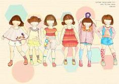 childrenswear fashion illustrations - Google Search