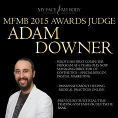 Adam Downer joins the judging panel for the MFMB Awards 2015.