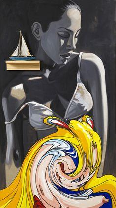 David Salle | Sailor, 2007