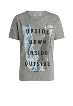 bd9158ea1bde Mit Jeans-Print in angesagtem Fotoprint-Design ist dieses Shirt eine echte  Offenbarung für alle Basic-Freunde!