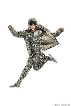 Adidas Originals by Jeremy Scott Delivers Zany Fun for Fall/Winter 2014 Collection image Adidas Originals Fall Winter 2014 Collection Men Jeremy Scott 008