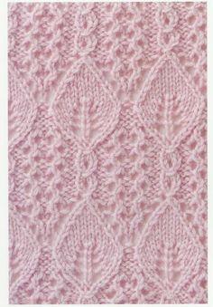 lace knitting stitches japanese 1