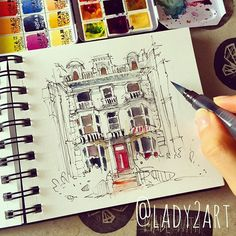 Sketching Notting Hill ✏️