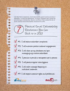7 Email Deliverability Resolutions to Hang in Your Cube