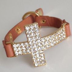 Large Crystal Cross Bracelet .. Just bought myself one in Black! Can't wait until it comes in :-)
