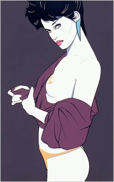 Patrick Nagel Matted Vintage Book Print c. 1986 ~ Mature Pin-Up Illustration ~ Art Deco Book Print ~ Erotic Print ~ Art Deco Wall Art by VintageAdWorld on Etsy Album Art, Illustrators, Classic Art, Comic Art, Girls Illustration, Human Art, Art, Pop Art, Nagel Art