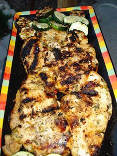 Citrus-and-Honey Grilled Chicken Breasts | The Sisters Cafe
