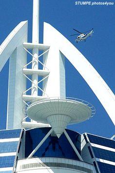 Helicopter Platform Burj Al Arab, Dubai, UAE