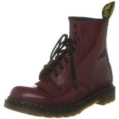 c6f6b2fba09 Dr martens 1460 milled smooth scarpe stringate basse brogue unisex adulto  rosso