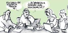 Reuniao de editores | A Folha do Laerte é a mesma que vc compra nas bancas? - Blue Bus