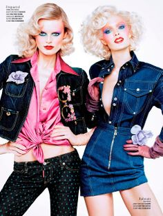 Fashion Maniac: Constance, Catherine, Liu, Kasia, Mirte, Bette, Hanne-Gaby, Alana, Marie, Cora, Sam & Martha by Sharif Hamza for V Spring 20...