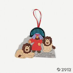 Daniel & The Lions' Den Bible Craft Kit (idea?) 12/7.25