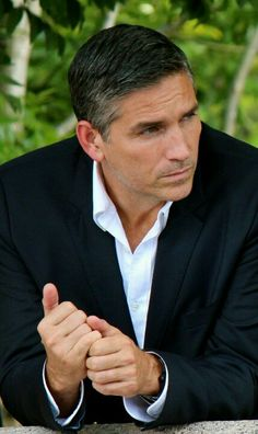 With a more typical Jake expression (Jim Caviezel from Person of Interest)