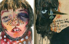 Juxtapoz Magazine - The Work of Elisa Malo