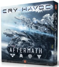 The second up is an expansion to one of the hottest games of 2016…Cry Havoc entitled Cry Havoc: Aftermath. Cry Havoc: Aftermath expands upon the base game, adding 5 new skills and 3 new structures to each faction. In addition to the skills and structures, there is a new game mode that allows for a full 5 round game. This game mode introduces new scoring abilities when an event token is passed instead of its removal, further increasing your options for scoring victory points.