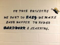 Spotted this great message on the wall of the education area at the Timpanogos Women's Facility at the Utah State Prison! #Utah #inspiration