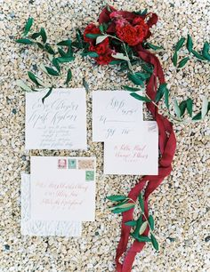 Photography : Anthem Photography | Photography : Maria Lamb Read More on SMP: http://www.stylemepretty.com/little-black-book-blog/2014/12/23/elegantly-festive-tuscan-wedding-inspiration/