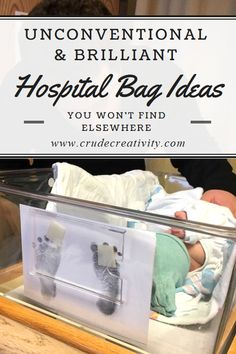 Items I wish I thought of for my hospital bag. #Baby #Birth #Hospital