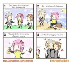 Very funny :) Cute Comics, Funny Comics, Wtf Funny, Funny Relatable Memes, Green Tea Neko, Manga Story, Short Comics, Gay Art, Manga Pictures