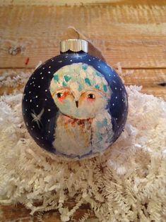 Christmas - SNOWY OWL Pinned by www.myowlbarn.com