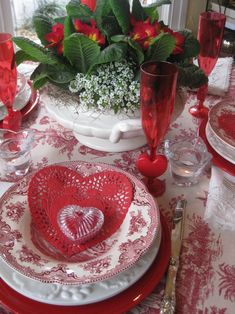.mom Had These Pink China And Milk Glass But She Never Mixed Them Valentines  Day