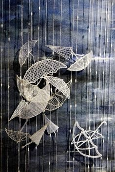 Online shopping from a great selection at Arts, Crafts & Sewing Store. Lace Umbrella, Bobbin Lace Patterns, Lacemaking, Textiles, Needle Lace, Free Motion Quilting, Fiber Art, Hand Embroidery, Quilt Patterns