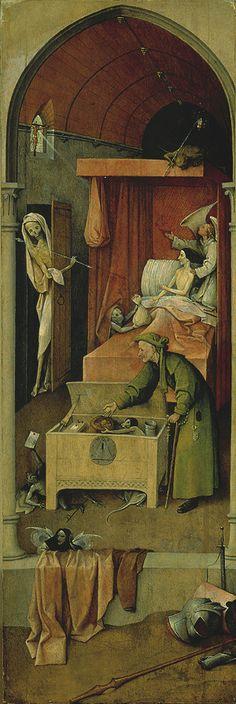 The Death of a Mizer / H Bosch/ Prado