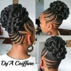 Updo Braids Styles Idea braided updos for black hair natural hair styles braided Updo Braids Styles. Here is Updo Braids Styles Idea for you. Updo Braids Styles braided updos for every occasion naturallycurly. Natural Hair Updo, Natural Hair Care, Natural Beauty, Braided Updo, Braided Hairstyles, Natural Hairstyles, Black Hairstyles, Chignon Bun, Cornrows Updo